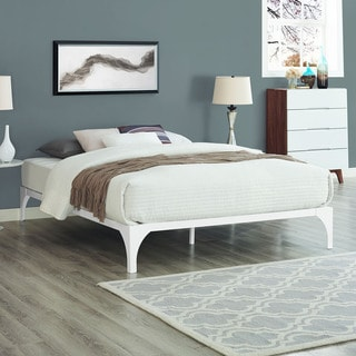 White Ollie Bed Frame