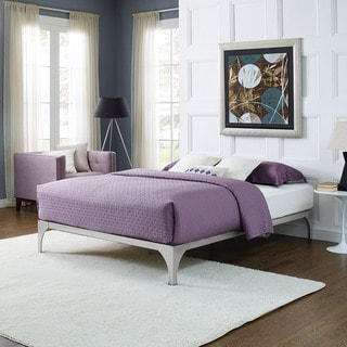 Silver Ollie Bed Frame