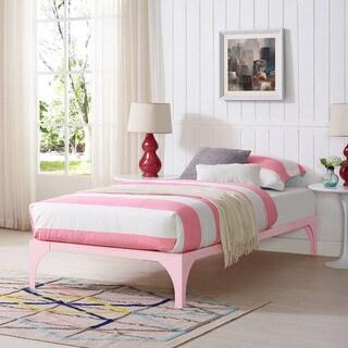 Pink Ollie Bed Frame