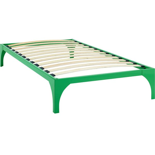 Surprising Shop Green Ollie Bed Frame Free Shipping Today Overstock Dailytribune Chair Design For Home Dailytribuneorg