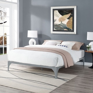 Gray Ollie Bed Frame
