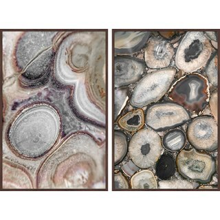 Geode Bunch Diptych - Multi-color