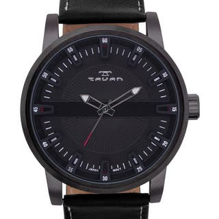 Tavan Haven Men's Watch Genuine Leather Strap Three Dimensional Dial|https://ak1.ostkcdn.com/images/products/13680341/P20344676.jpg?impolicy=medium
