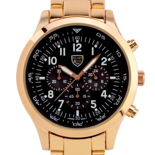 Picard & Cie Empire Chronograph Men's Watch Intricate Dial Design