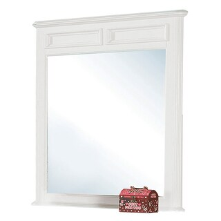 Acme Furniture Athena White Pine Blend Mirror
