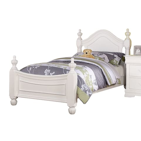 ACME Furniture Classique Bed, White