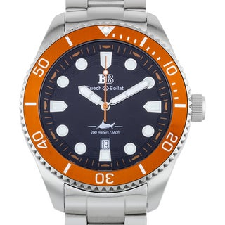 Buech & Boilat Thresher Men's Swiss Diver Watch