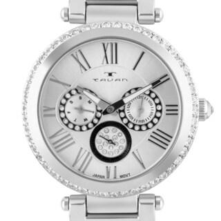 Tavan Seven Seas Ladies Multi-Function Watch Gold Bracelet