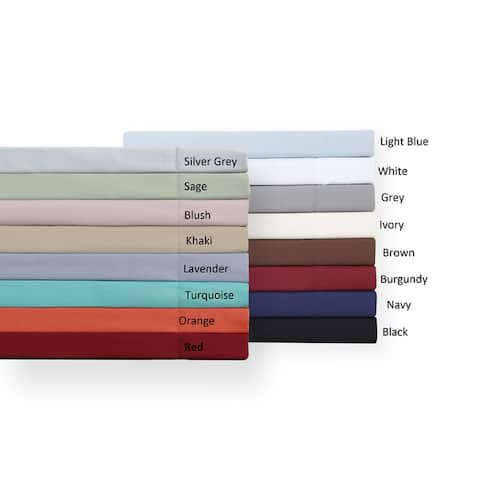 Truly Soft Everyday Solid Bed Sheet Sets