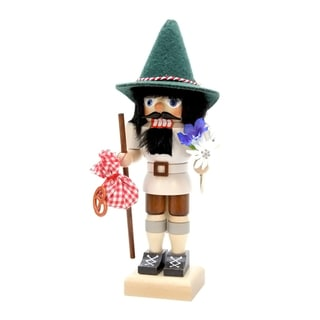 Christian Ulbricht Bavarian Hiker Multicolored Wood Nutcracker