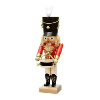 Christian Ulbricht Red Drummer Nutcracker