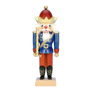 Christian Ulbricht Multicolor Wood Mini King Nutcracker