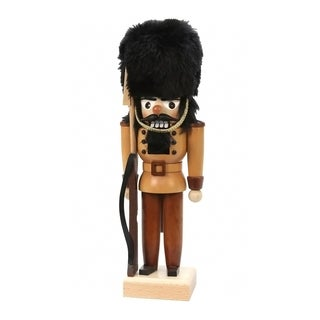 Christian Ulbricht Natural Wood Soldier Nutcracker