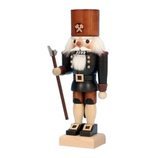 Christian Ulbricht Miner Wood Nutcracker