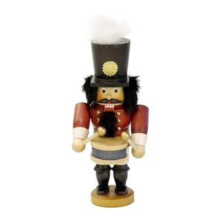 Christian Ulbricht Drummer Multicolor Wood Nutcracker