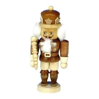 Christian Ulbricht King Wood Mini Nutcracker
