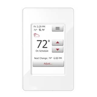 WarmlyYours nSpire Touch WiFi and Touch Programmable Thermostat