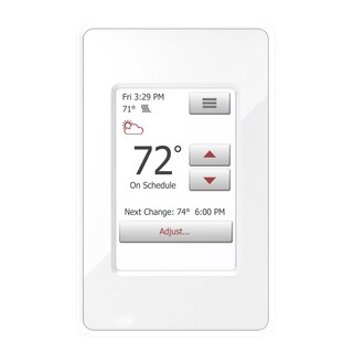 WarmlyYours nSpire Touch Programmable Thermostat