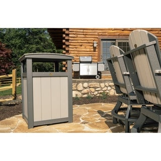 Poly Lumber Commercial Grade Trash/Garbage Can