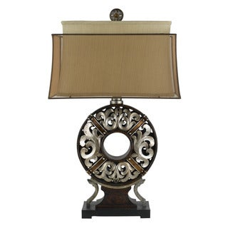 100W Clarion Resin Table Lamp