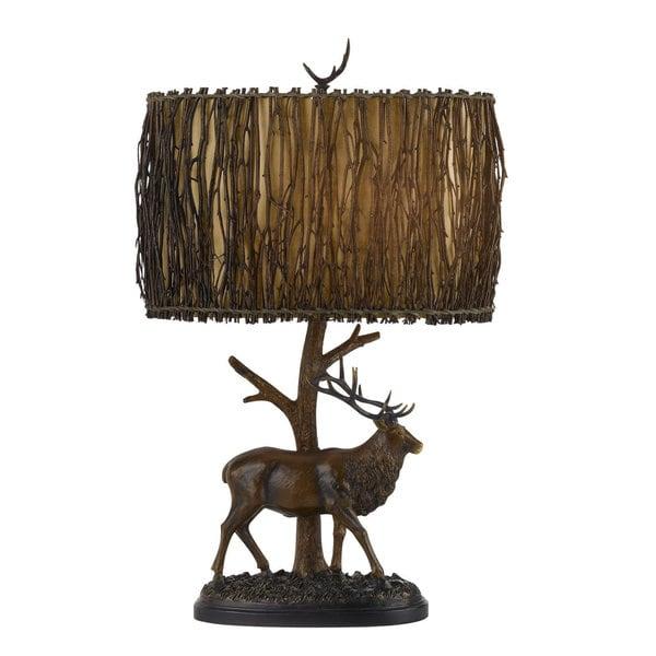 Elk Resin 3-way 150-watt Table Lamp