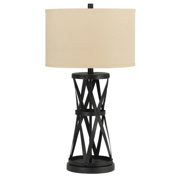 Passo Bronze-colored Iron 150-Watt Table Lamp