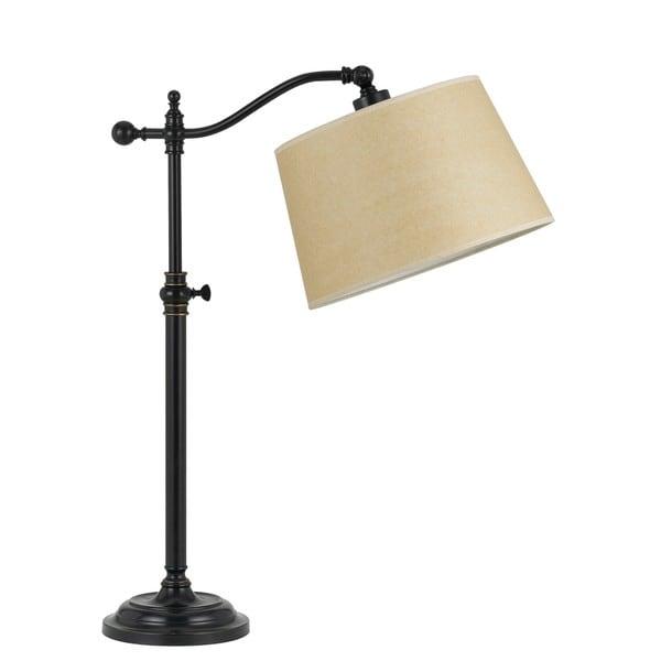 Wilmington Down Bridge Bronze-tone Metal 100-watt Table Lamp