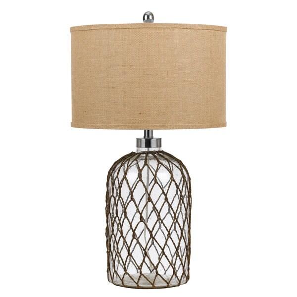 150-watt Jupiter Glass Table Lamp