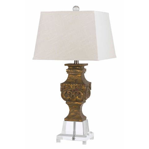 Pierson Resin/Crystal 150-watt Table Lamp