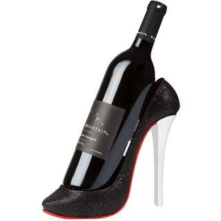Trademark Innovations KitchInspirations High Heel Wine Bottle Holder Stylish Conversation Starter Wine Rack