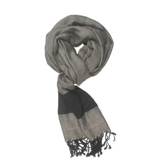 In-Sattva Colors  Two tone Horizontal Stripes Scarf Stole