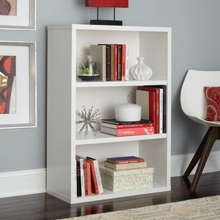 ClosetMaid Premium White 3-shelf Adjustable Bookcase