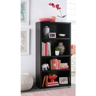ClosetMaid Premium Black Walnut 4-shelf Adjustable Bookcase