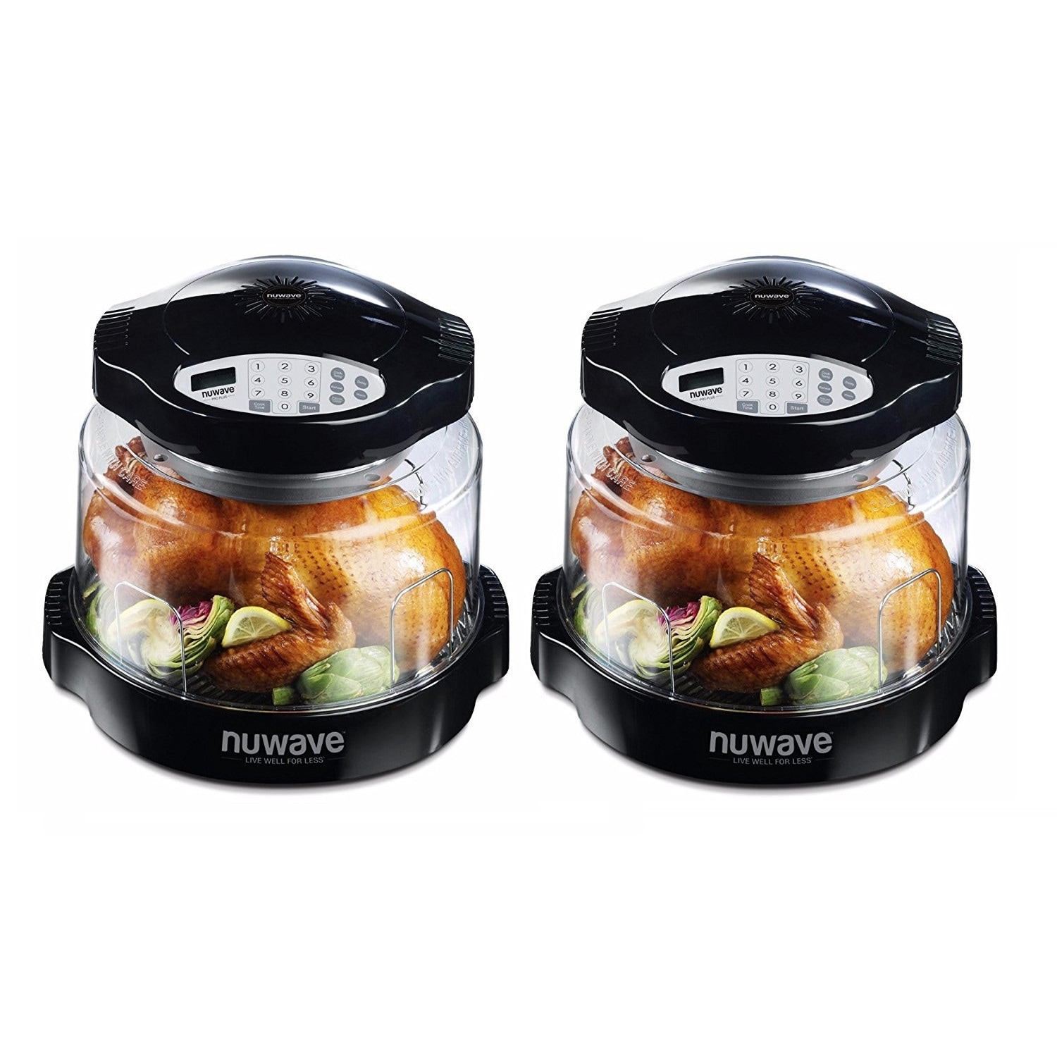 Nu-Wave Oven Pro Plus with Black Digital Panel (2-Pack)