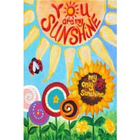 Marmont Hill - 'My Only Sunshine' by Nicola Joyner Painting Print on Wrapped Canvas - Multi-color