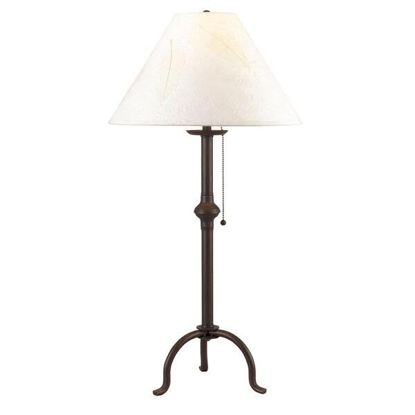 75-watt Iron Table Lamp W/Pull Chain
