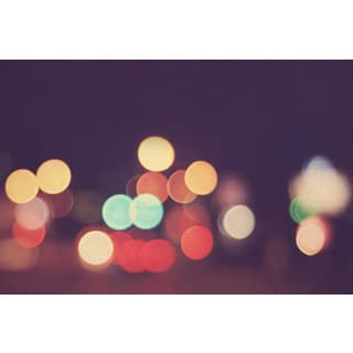 Marmont Hill - 'Bokeh Nights' Painting Print on Wrapped Canvas