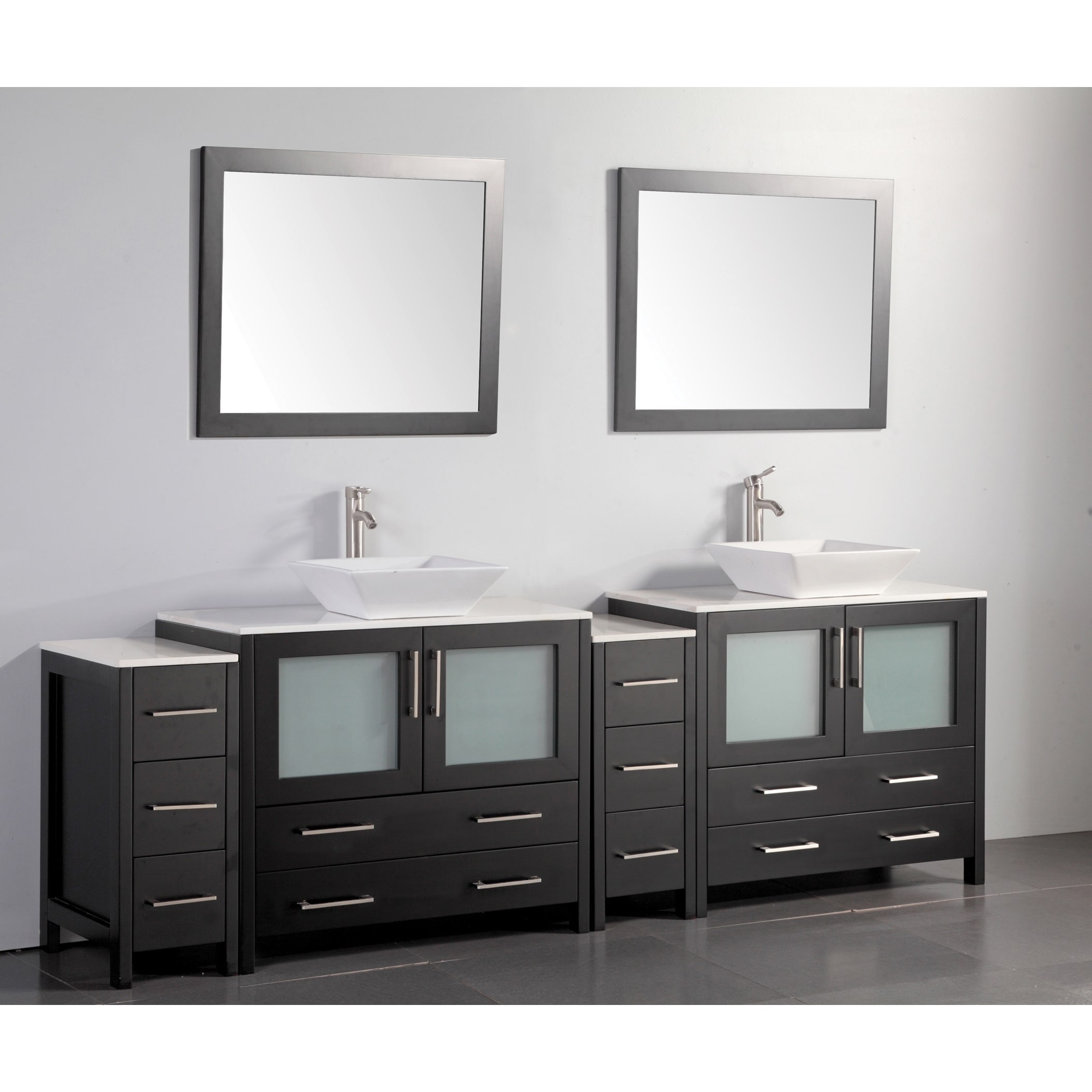 96 inches bathroom vanity cabinets | compare prices at nextag