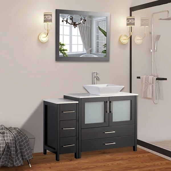 Vanity Art 48 Inch Single Sink Bathroom Combo Set