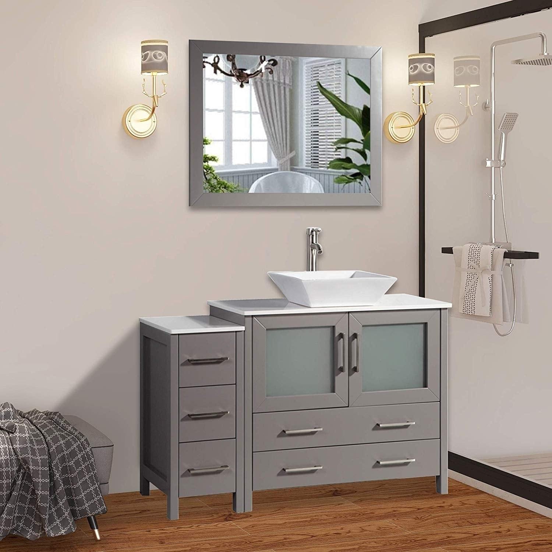 Single Sink Bathroom Vanity Combo Set