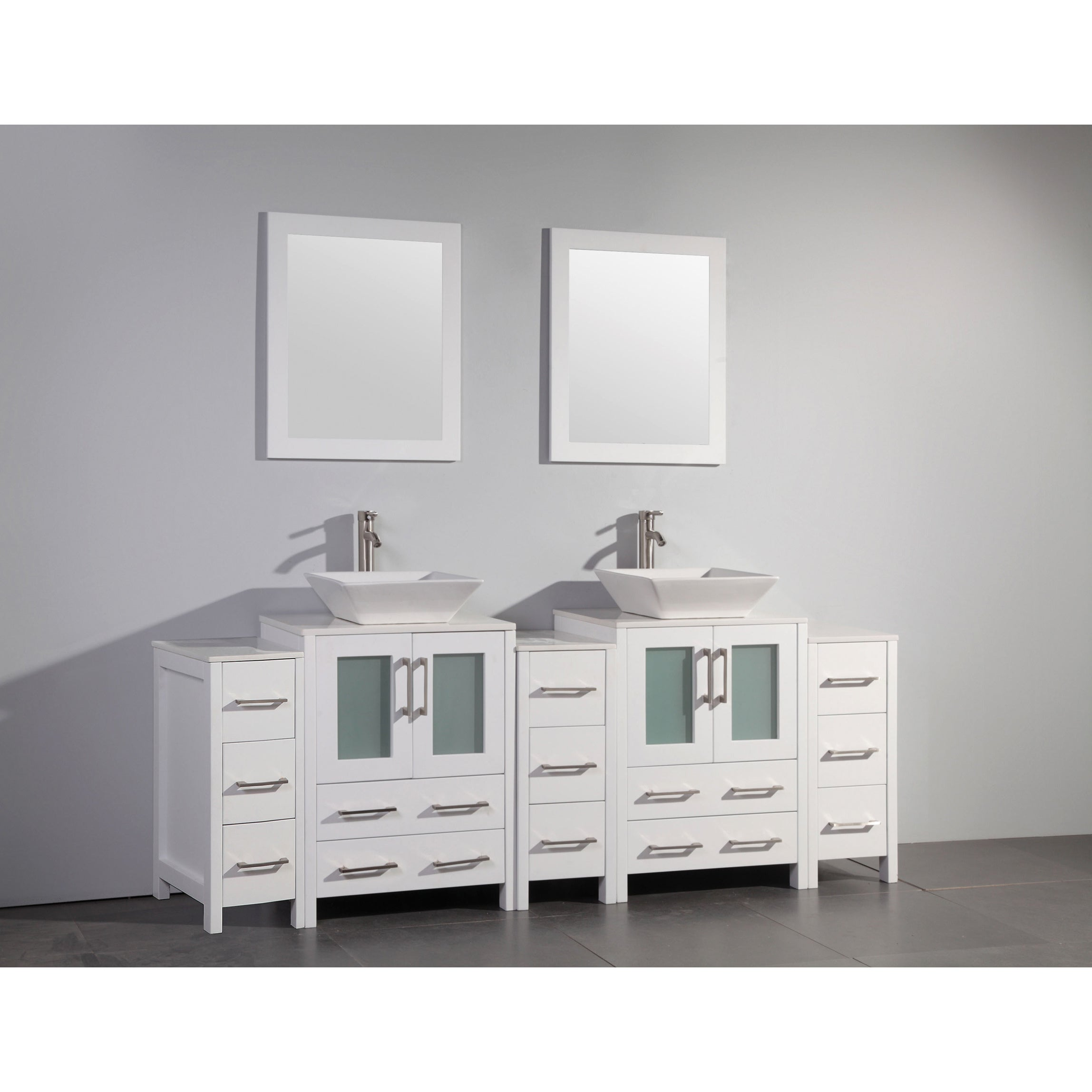 84 inch vanity top double sink. Vanity Art 84 Inch Double Sink Bathroom Set With C  inch vanity top double sink Compare Prices at Nextag