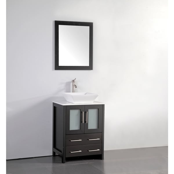 Shop Vanity Art 24 Inch Single Sink Bathroom Vanity Set