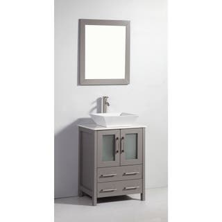 Grey Bathroom Vanities Amp Vanity Cabinets For Less Overstock