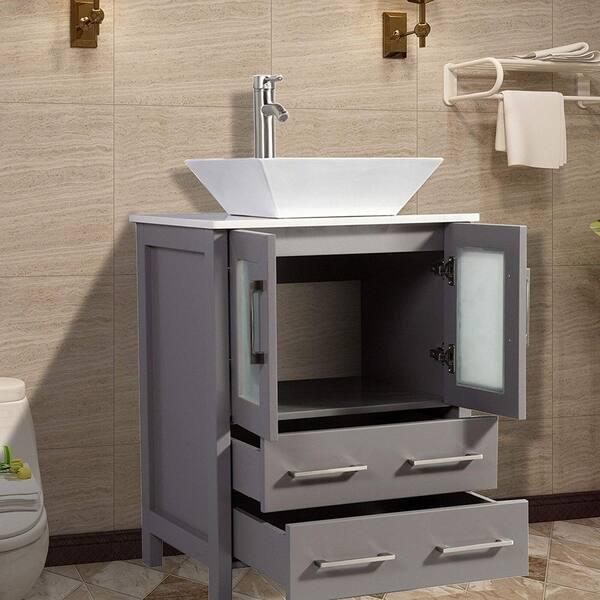 Vanity Art 24 Inch Single Sink