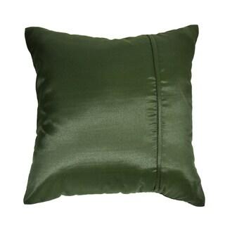 Elephant Stripe Leaf Silk Throw Pillow Cushion Cover Set (Thailand)