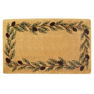 Brown Coir Evergreen Coco Mat