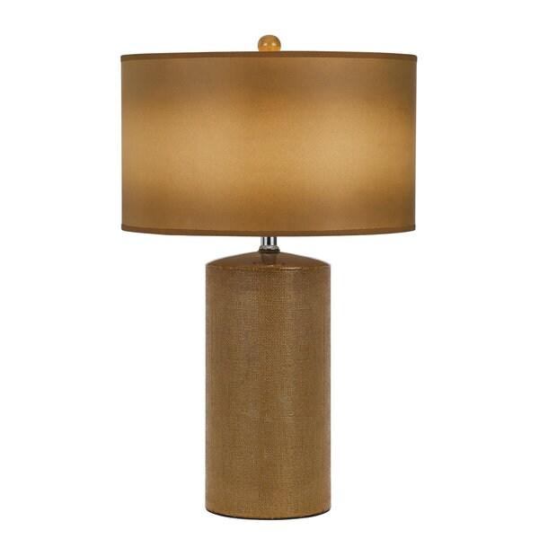 Brown Ceramic 150-watt Table Lamp