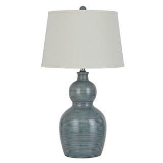 150W Grey Ceramic Table Lamp