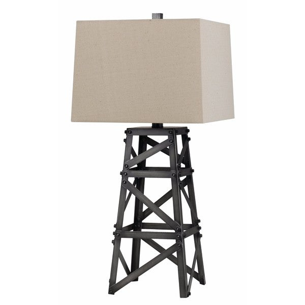 150-watt Tower Metal Table Lamp