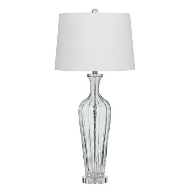 Mexia White Glass Table Lamp